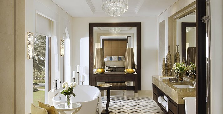 Badezimmer Palm Beach Junior Suite (with Pool) - One&Only The Palm
