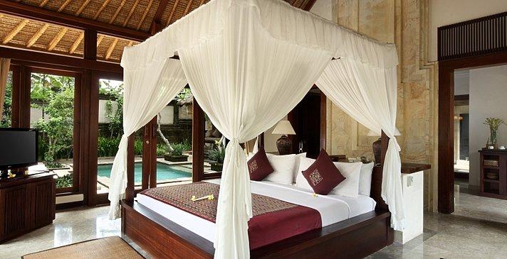 The Ubud Village Resort & Spa - Garden Pool Villa - Schlafzimmer