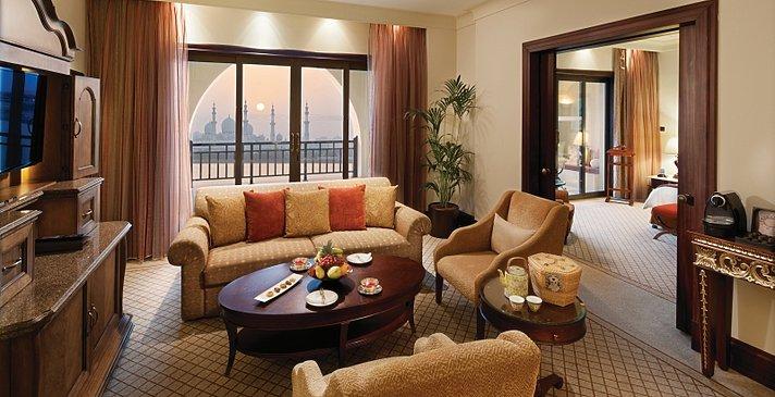 Executive Suite Wohnzimmer - Shangri-La Hotel, Qaryat Al Beri