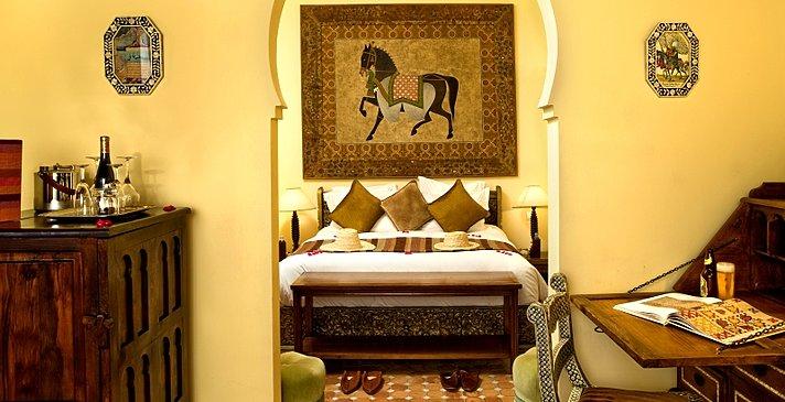 Kasbah Tamadot - Deluxe Room