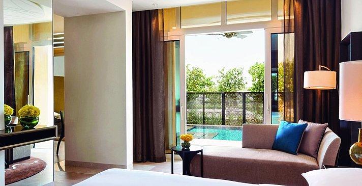 (2-BR) Garden View Suite Schlafzimmer - Park Hyatt Abu Dhabi Hotel and Villas