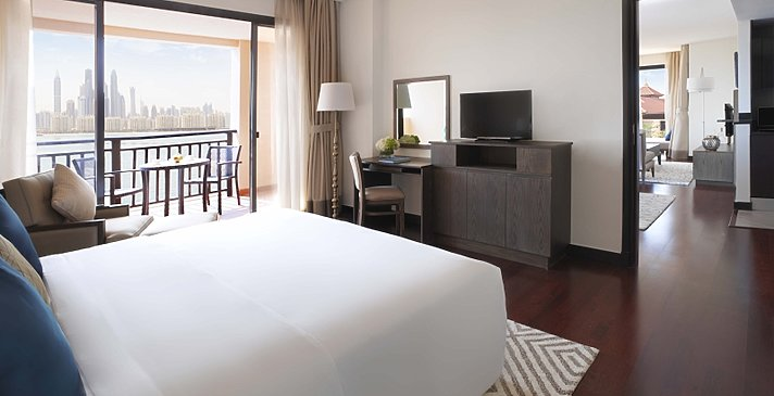 Two Bedroom Apartment Hauptschlafzimmer - Anantara Dubai The Palm Resort & Spa