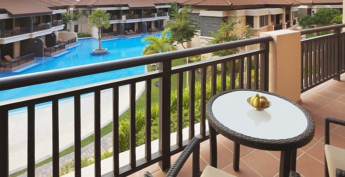 Wohnbeispiel Terrasse - Anantara Dubai The Palm Resort & Spa