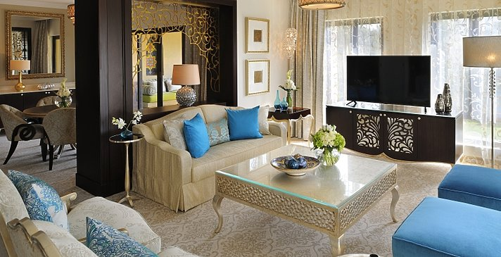 Arabian Court Executive Suite Wohnbereich - One&Only Royal Mirage - Arabian Court