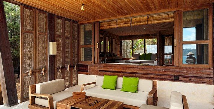 Six Senses Con Dao - Ocean View Duplex Terrasse