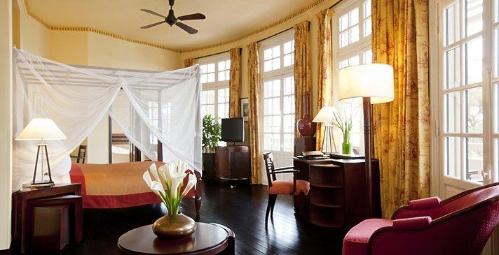 La Residence Hue - Colonial Suite im historischen Gebäude
