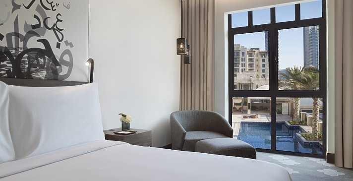 Deluxe Pool View Room - Manzil Downtown Dubai