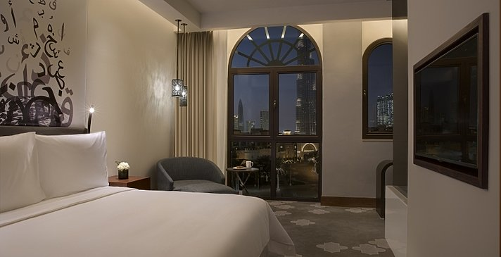 Deluxe Burj View Room - Manzil Downtown Dubai