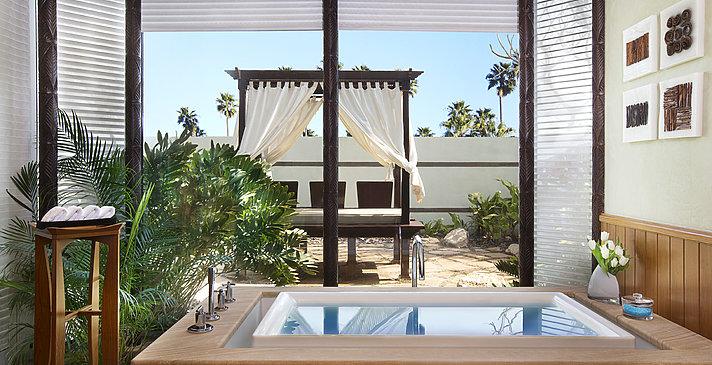 Badezimmer der Villa - The Ritz-Carlton, Bahrain Villas