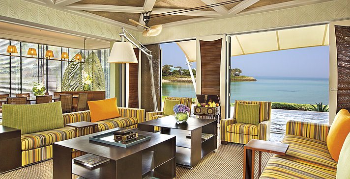 Wohnbereich der Villen - The Ritz-Carlton, Bahrain Villas
