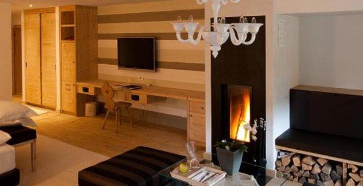 Rosa Alpina Hotel & Spa - Chalet Loft Suite