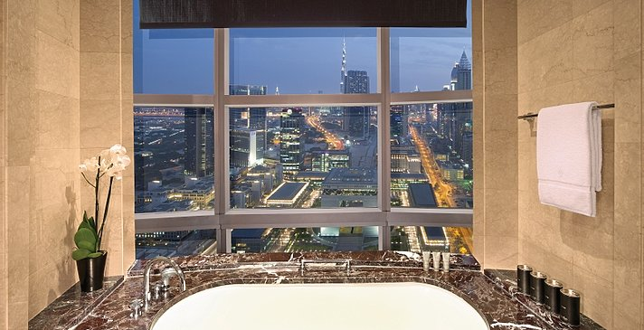 Club Suite Badezimmer - Jumeirah Emirates Towers