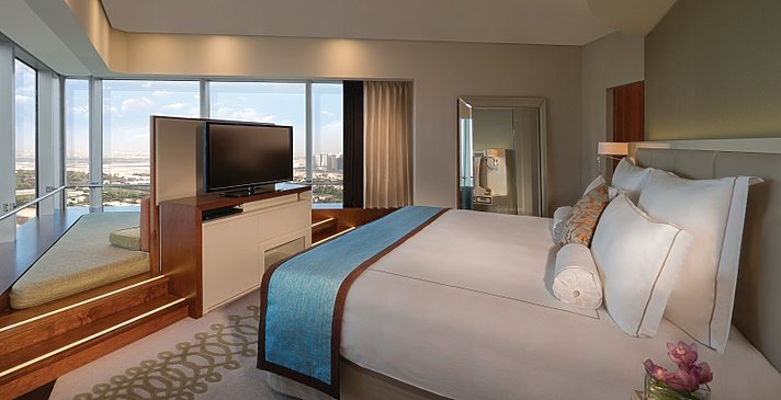 Executive Tower Suite Schlafzimmer - Jumeirah Emirates Towers