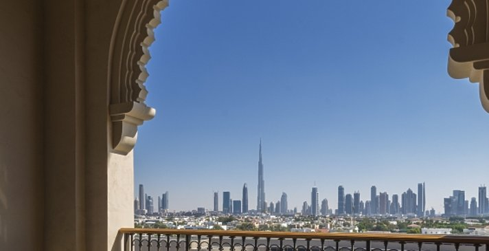 Premier Skyline View Balkon - Four Seasons Resort Dubai at Jumeirah Beach