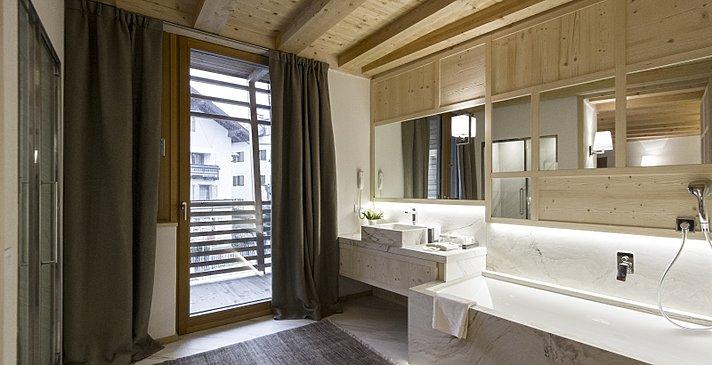 Chalet Zeno - Badezimmer Suiten