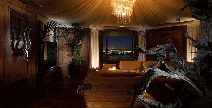 3 Bedroom Villa Wohnbereich - Telal Resort
