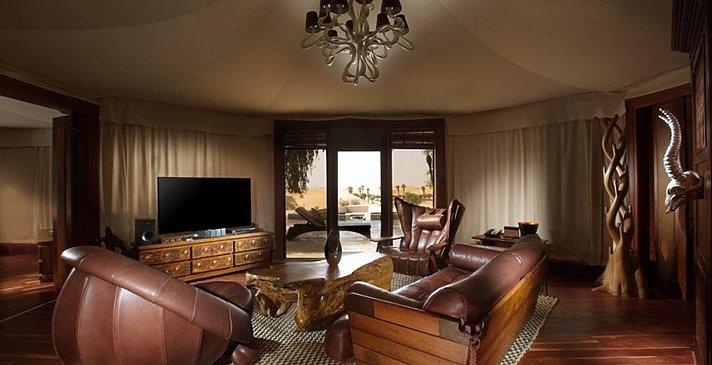 2 Bedroom Villa Wohnzimmer - Telal Resort