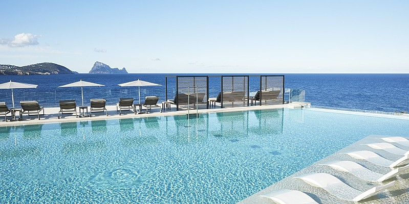 Adults Only Infinity Pool - 7Pines Resort Ibiza