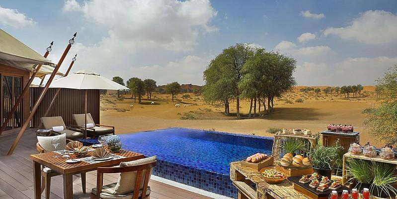 Al Sahari Villa Private Dining - Al Wadi Desert, A Ritz-Carlton Hotel