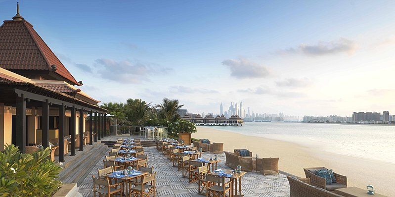 The Beach House Terrasse - Anantara Dubai The Palm Resort & Spa