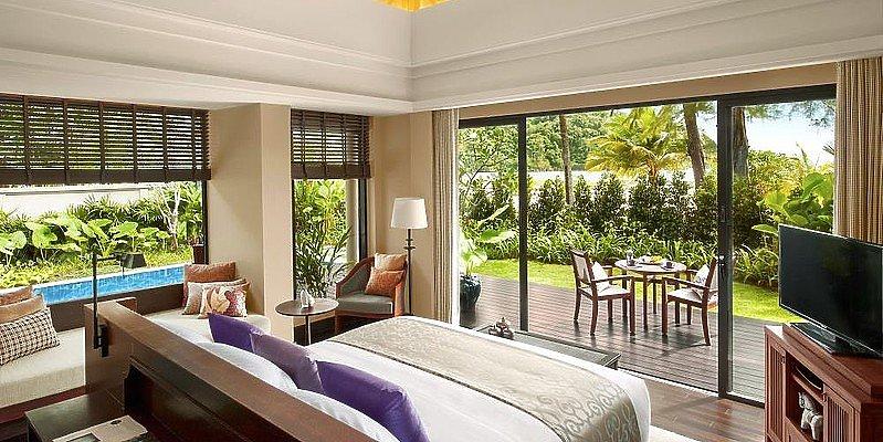 Schlafzimmer Beach Front Layan Pool Villa - Anantara Layan Phuket Resort