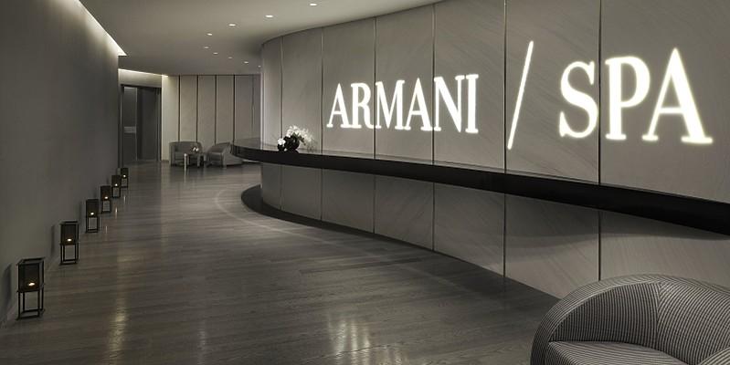 Armani/Spa Eingangsbereich - Armani Hotel Dubai
