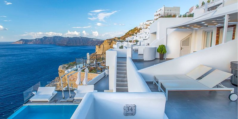 Aussenansicht - Santorini Secret Suites & Spa