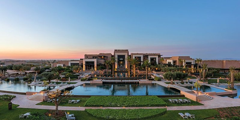 Fairmont Royal Palm Marrakech - Aussenansicht