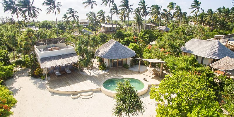 Beachfront 1 BR Villa - White Sand Luxury Villas & Spa