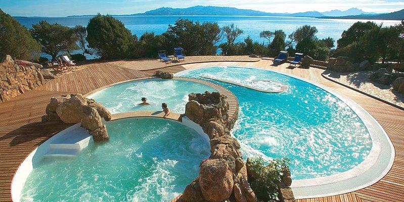 Capo D'Orso Hotel Thalasso & Spa - Thalasso pools
