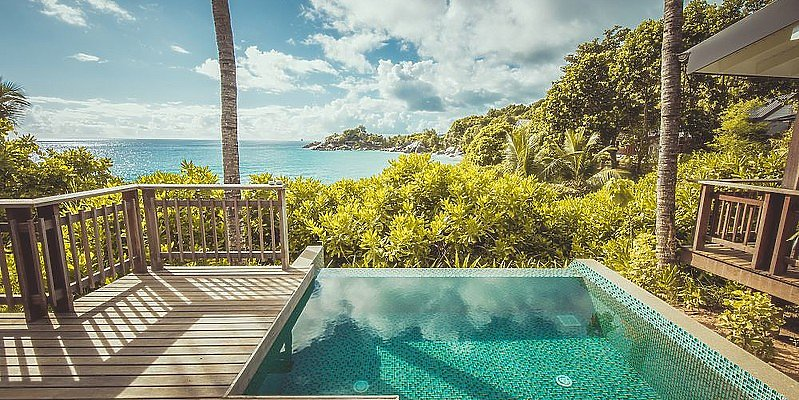 Carana Beach - Ocean View Pool Chalet