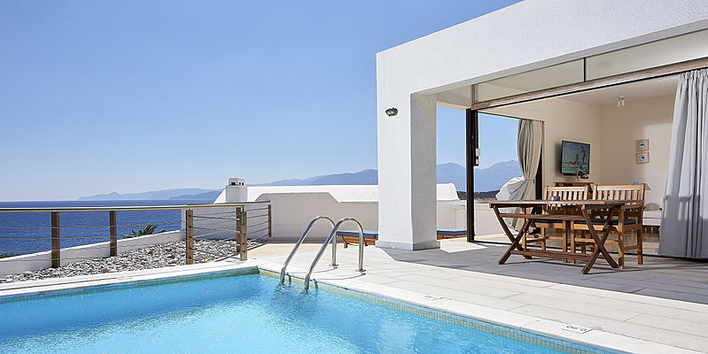 Classic Suite Private Pool - St. Nicolas Bay Resort Hotel & Villas