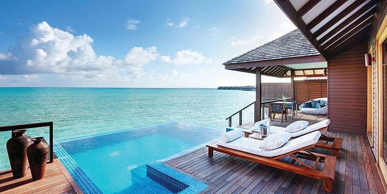 Deluxe Water Villa - Hideaway Beach Resort & Spa