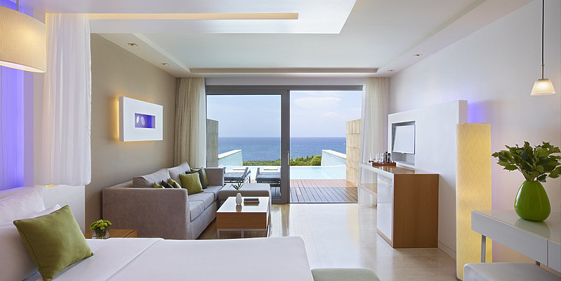 Elite Suite Sea View Private Pool - Elite Suites