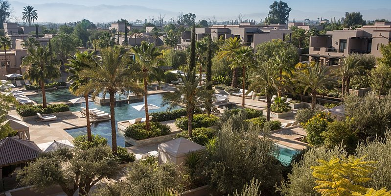 Family Pool - Four Seasons Resort Marrakech