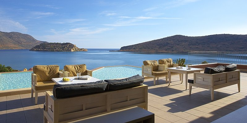 Grand Domes Bar - Domes of Elounda, Autograph Collection Hotels