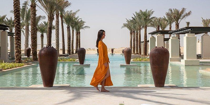 Hauptpool - Jumeirah Al Wathba Desert Resort & Spa