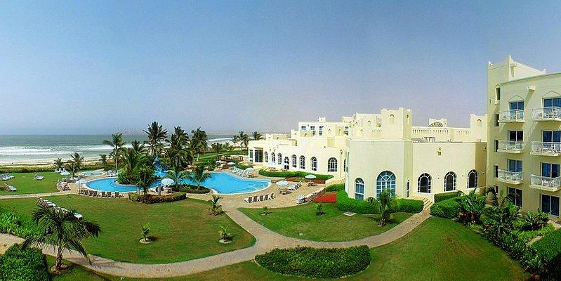 Poolbereich - Hilton Salalah