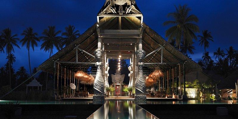 Hotel Tugu Lombok - Bale Kok Pletok Open Dining Hall
