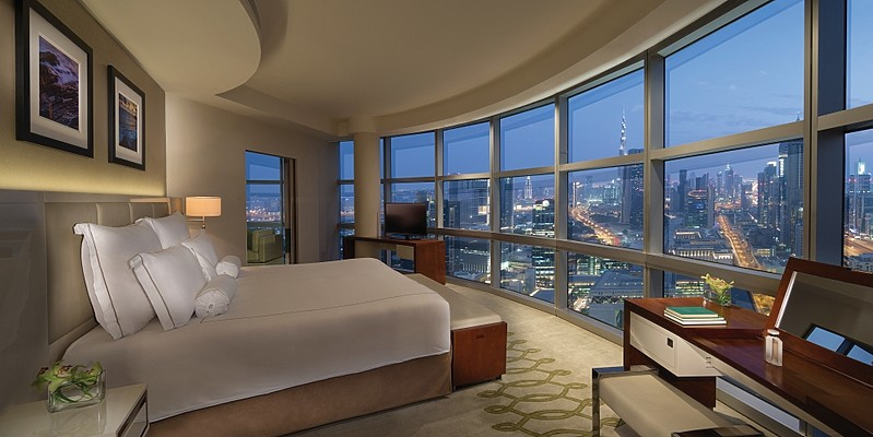 Club Suite Schlafzimmer - Jumeirah Emirates Towers