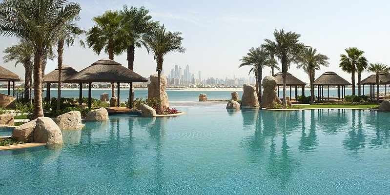 Lagunenpool - Sofitel Dubai The Palm Resort & Spa