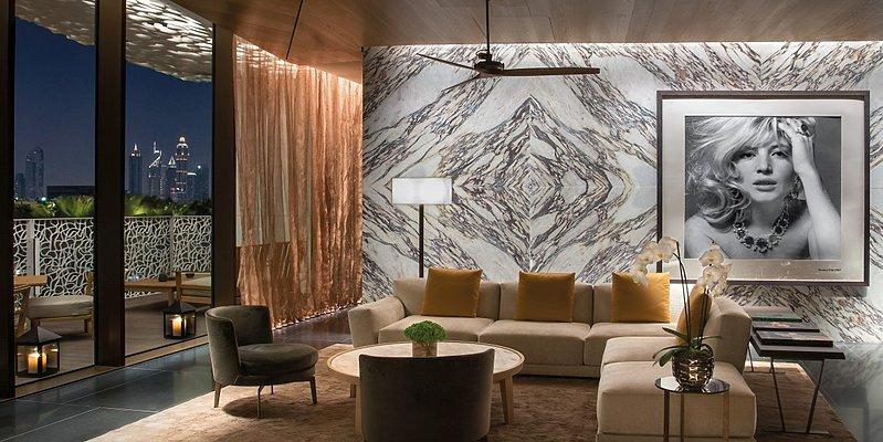 Lobby Bulgari Resort Dubai
