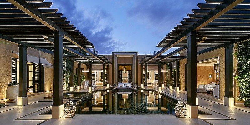 Mandarin Oriental Marrakech - Oriental Villa Terrasse