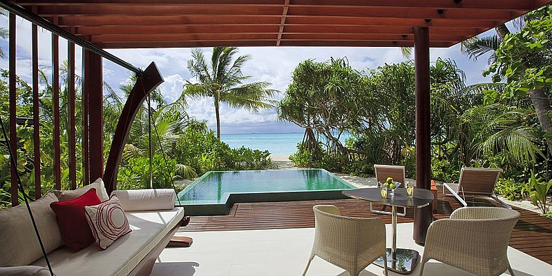Beach Studio mit Pool - Niyama Private Islands Maldives
