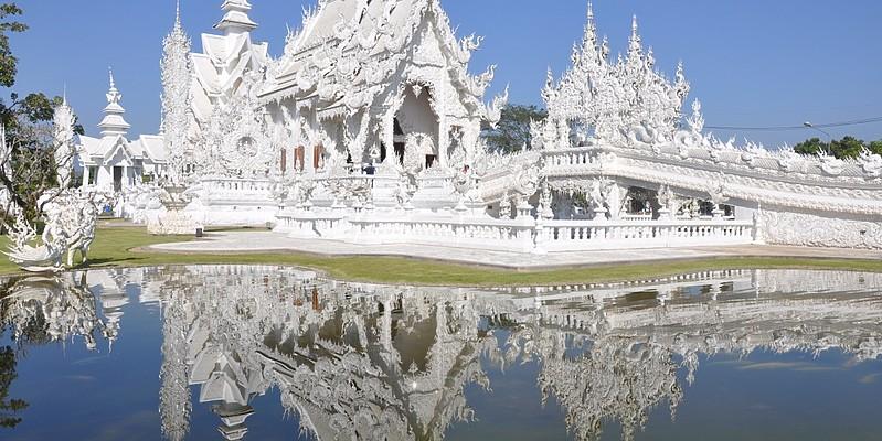 Wat Rong Khun - Northern Rose