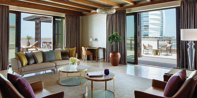 Ocean Suite Wohnbereich- Jumeirah Al Naseem