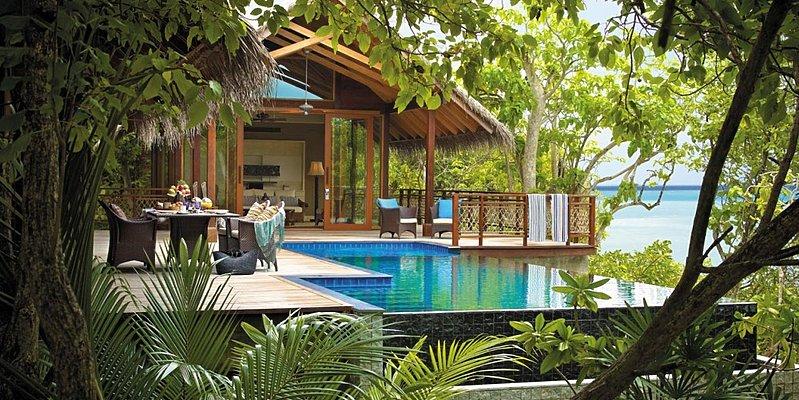Ocean View Tree House Villa - Shangri-La`s Villingili Resort and Spa