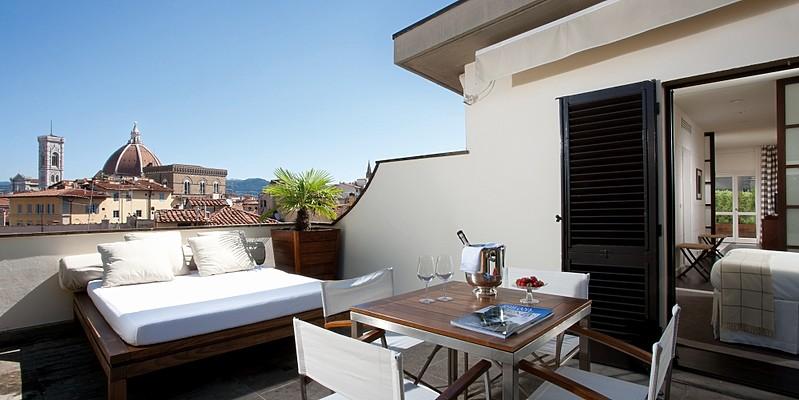 Penthouse Palazzo Vecchio - Gallery Hotel Art