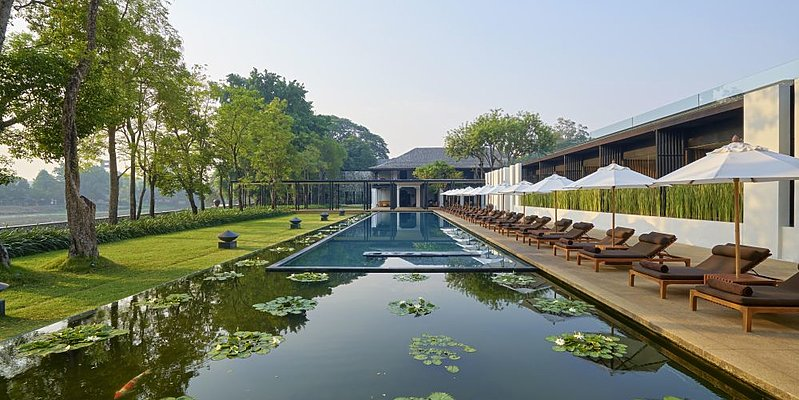 Swimming Pool - Anantara Chiang Mai Resort & Spa