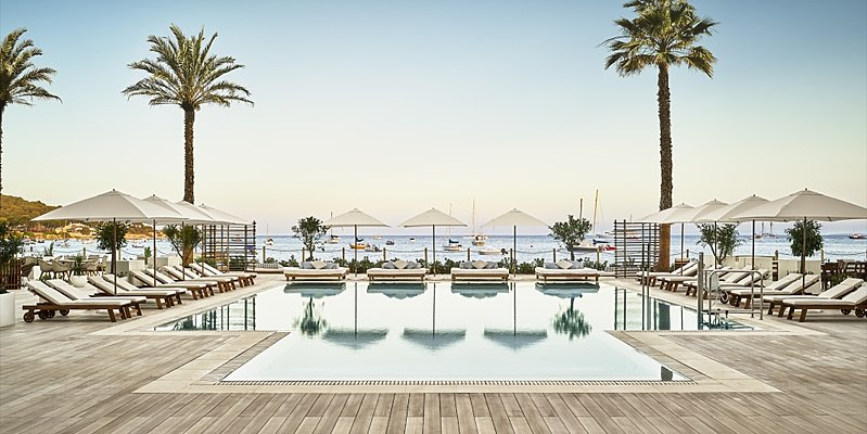 Pool Deck - Nobu Hotel Ibiza Bay